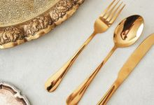 Steel Cutlery Sets by Pandangan Pertama Gift Boutique