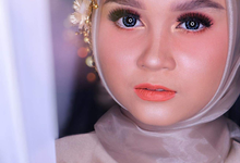Muslimah Wedding Make Up . Ms. Arum by Pangestwury MakeOver
