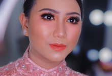 Wedding make up . Ms . miyuki by Pangestwury MakeOver
