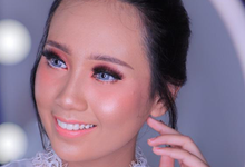 Trial Wedding Make Up Ms. sukma by Pangestwury MakeOver