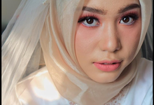 Trial Wedding Make Up Ms. Tiara by Pangestwury MakeOver
