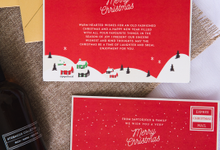 Thankyou Cards  christmas edition Sign Note by Papertea.id