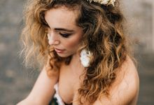 Intimate elegant wedding in Paris by Alesia Solo Make Up Artist & Hairstylist