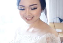 Wedding makeup for maria by Paula make-up artist