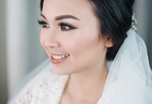 Wedding makeup for maria by Paula make-up artist