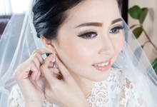 Wedding of Levina by Paula make-up artist