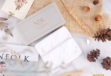 THE WEDDING OF NR - Custom Powerbank by PORTÉ by Clarin