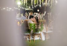 Wedding Reception by Becik Florist