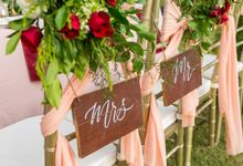 Rustic Red Theme by CITTA Wedding