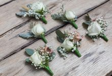 Mike and Vanessa Wedding by Becik Florist