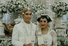 Andani & Arya Wedding Highlight by Financial Hall by IKK Wedding