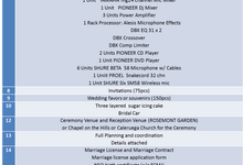 Complete Wedding Package by ECMJ Wedding Planner & Event Management Office
