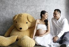 Maternity Photoshoot by AndyMerl Makeup Artist
