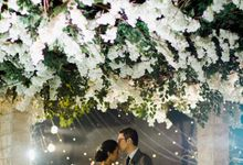 Romantic Foliage Wedding by Pea and Pie