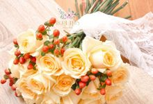 Pre-wedding Bouquets by Floral Treats