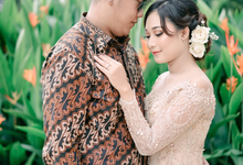 Engagement of Nida + Gagah by PECULIAR CREATIVE