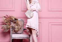 Peeptoe Brukat Baby Pink by SLIGHTshop.com