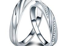 Tiaria PEERLESS DUO Diamond Ring Perhiasan Cincin Pernikahan Emas dan Berlian by TIARIA
