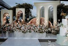 Glen & Felienda Wedding Decoration by Valentine Wedding Decoration