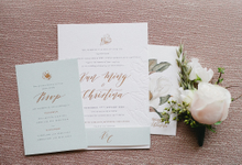 Magnolia by Pensée invitation & stationery