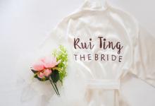Bridal and Bridesmaids Robes by Peony Blush