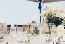 Dusty Blue - Bali wedding by Pepper Suite Events