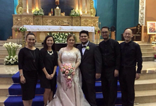 Ceremony: Salas-Cerdeña Nuptials by Perfect Fourth