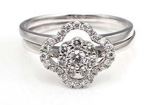 Tiaria Dame Rocket Ring Perhiasan Cincin Tunangan Emas dan Berlian by TIARIA