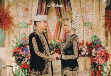 Sara & Nikki Minangnese Wedding by Le Motion