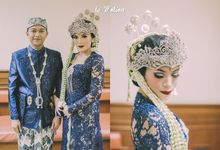 Sundanese Traditional Wedding of Tasha & Malino by Le Motion