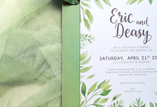 Eric & Deasy by Petite Chérie Invitation