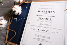 Jonathan & Jessica (no envelope type) by Petite Chérie Invitation