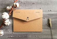 Jonathan & Jessica (no envelope type) by Petite Chérie Invitation