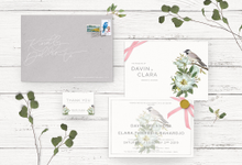 Davin + Clara by Petite Chérie Invitation