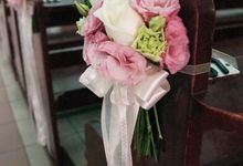 Church Wedding - Queen of Peace Church by The Olive 3 (S) Pte Ltd