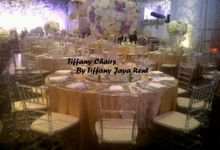 Tiffany Chair by TIFFANY JAYA RENT-KURSI TIFFANY