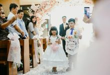 The Wedding of Patrick & Gracia by Huemince