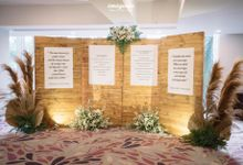 The Wedding of Lila & Thirafi by Hotel Olympic Renotel Sentul
