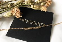 18ct Fine Gold - Custom Bracelet for Mrs F by AEROCULATA