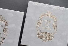 Zachary & Karissa by Vinas Invitation