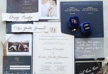 Denny & Evelyn by Vinas Invitation