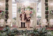 Minang Reception of Intan & Ryandika by  Menara Mandiri by IKK Wedding (ex. Plaza Bapindo)