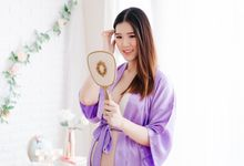 Couple Maternity Boudoir by Bells & Birds