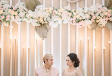 AKAD & RECEPTION TITA & RADIT by  Menara Mandiri by IKK Wedding (ex. Plaza Bapindo)
