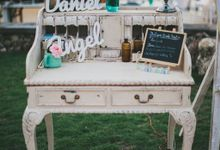vintage rustic wedding by Ambience Occasions