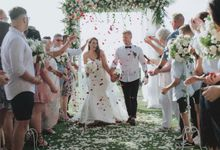 Caity & Jake Wedding by Holiday Inn Resort Baruna Bali
