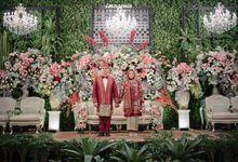 New Normal Batak Mandailing Wedding of Dhilah & Dentha by Menara Mandiri by IKK Wedding (ex. Plaza Bapindo)