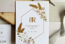 Bohemian Pampas by Trouvaille Invitation