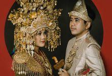The Wedding Of Akiko & Rozan by Makna Cerita