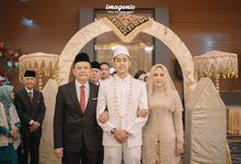The Wedding of Rio & Nabila by  Menara Mandiri by IKK Wedding (ex. Plaza Bapindo)